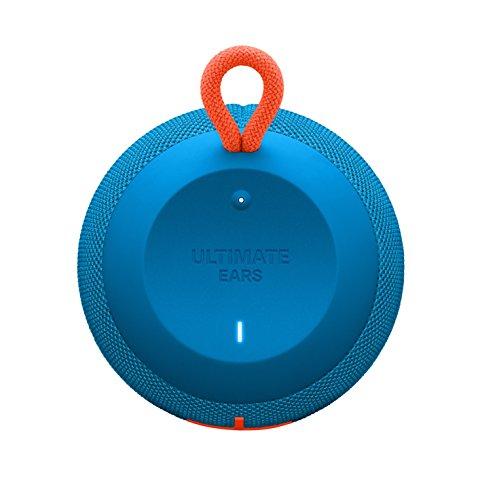 Ultimate Ears WONDERBOOM Super Portable Waterproof Bluetooth Speaker, Subzero Blue