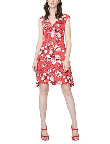 Desigual Vest_Blue Vestido, Rojo, XXL para Mujer