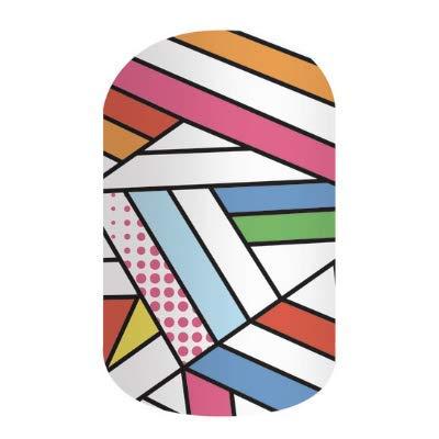 POP ART FUSION - Jamberry Nail Wraps - Full Sheet - Fun & Trendy Nail Art Stickers
