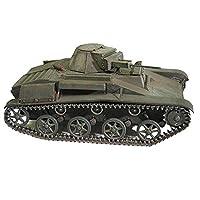 モデルおもちゃ1/25スケールソビエトT-60軽戦車子供のおもちゃキットとギフト、6.3インチx3.5インチ