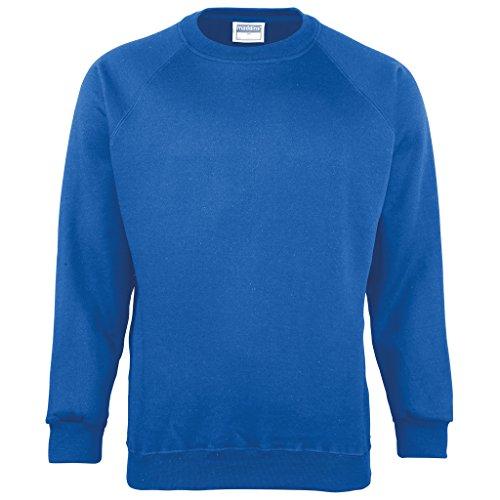 MAKZ - Sweat-Shirt - Manches Longues - Homme - Bleu - XXX-Large
