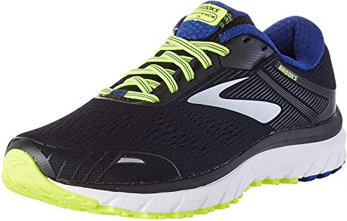 Brooks Mens Defyance 11 Running Shoe, Black/Blue/Nightlife, 42.5 EU