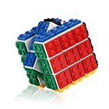 Small Fish Speed Cube Blocks, Brain Teaser Puzzle and Bricks Toy in 1 for Kids, Suitable for Boys and Girls Age 5 and Up
