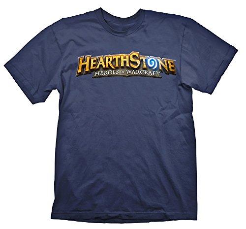 Hearthstone T-Shirt Logo Navy, XL