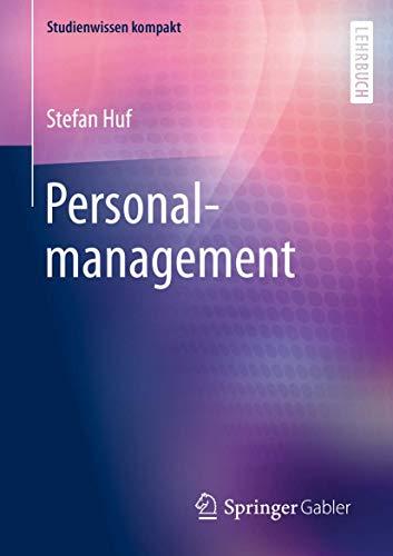 Personalmanagement (Studienwissen kompakt)