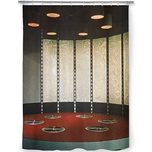 "net socks Star Trek Teleporter Room - Decorative Fabric Shower Curtain (72""x72"")"