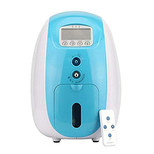 1L-5L Generador de concentrador de oxígeno para el hogar Inteligente Completo portátil con nebulizador Compacto de Trabajo silencioso