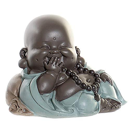 clasificación y comparación Decoración de resina para hogares y más monjes bebés, decoración para estatuas de Buda.  Monje … para casa