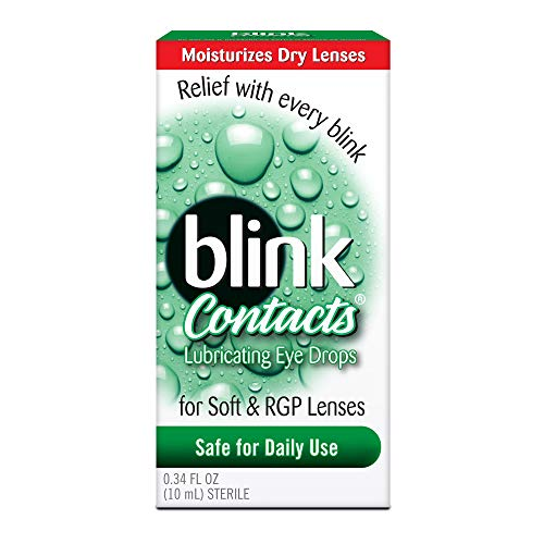 Moisturizes dry lenses. Relief with every blink. Safe for daily use.