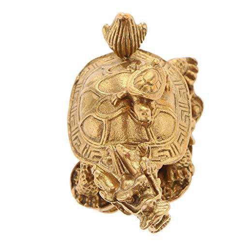 Dragon Chino y Tortuga - Amuleto para atraer Riqueza y Poder