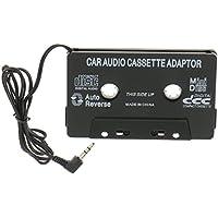 3,5mm Cintas de Cassette Adaptador Auxiliar Audio de Coche Para IPod Mp3 CD Teléfono