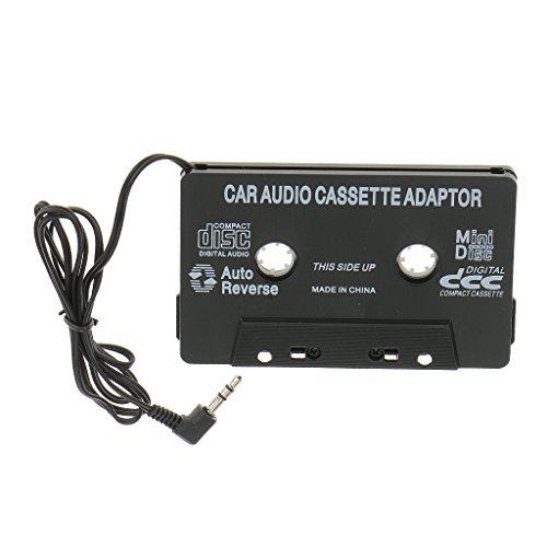 Desconocido 3,5mm Cintas de Cassette Adaptador Auxiliar Audio de Coche para iPod Mp3 CD Teléfono