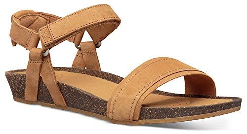 Teva Damen Mahonia Stitch Womens Sandale, braun