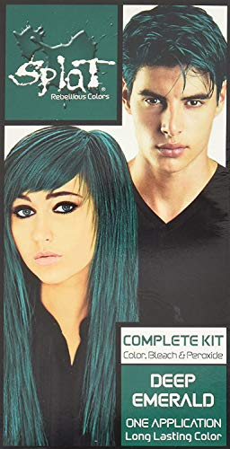 Splat | Deep Emerald | Original Complete Green Hair Dye Kit |...
