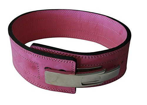 Quest athletics powerlifting belt with lever buckle image