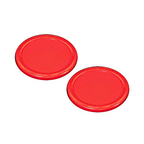 Best Buy! Gold Standard Games Shelti Air Hockey 3-3/16- Red Puck Set of 2