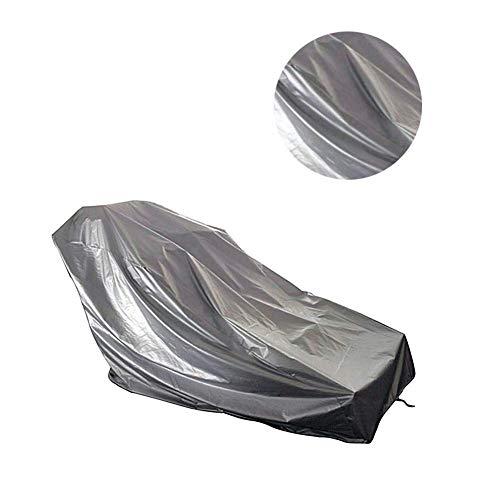Molinter Tapis roulant Copertura Impermeabile Antipolvere Tapis roulant Tessuto Oxford per Tapis roulant Interno Esterno casa Allenamento Fitness mobili da Giardino, Grau, 95 * 110 * 160