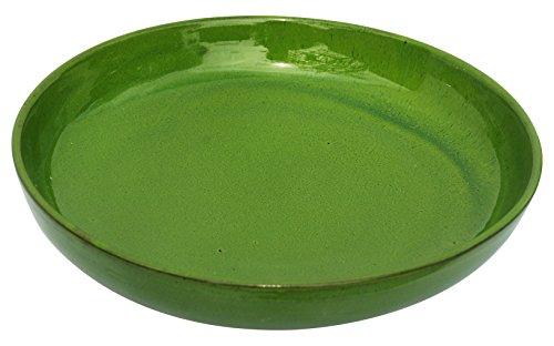 Amazing Cookware Assiette Creuse en Terre Cuite 28 cm – Vert