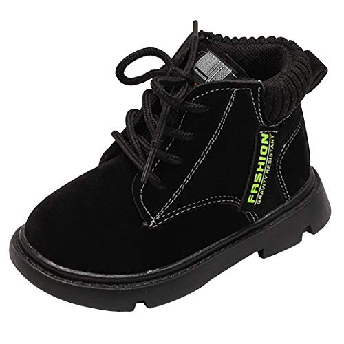 Boys Work Boots Toddler Classic Ankle Boot Waterproof Comfort Workboot Hiking Booties for Kids Size 7.5