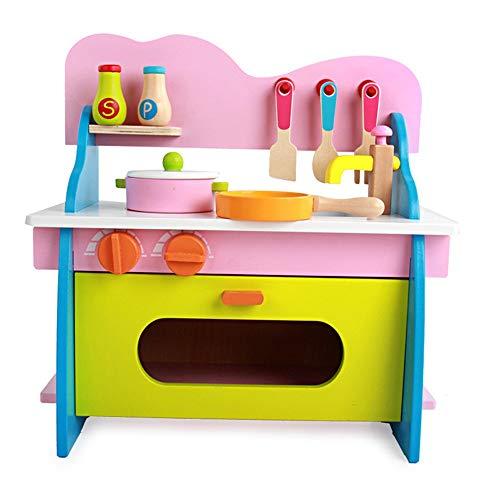 Juguetes para niños Cocina Poco Cocina de Cocina, Cocina de Juguete for niños pequeños Toy Set de Accesorios, Cocina Kids Set de Juego de Cocina en Roles Que juegan los Juguetes Juego de rol