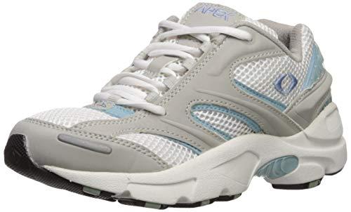 Apex Stealth Runner - Zapatillas deportivas para hombre, gris (Plateado/Azul), 35.5 EU