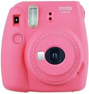 Fujifilm Instax Mini 9 Instant Camera Flamingo Pink (Renewed)