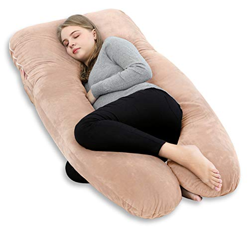 Meiz 抱き枕 授乳クッション 妊婦枕 U型 抱かれ枕 母の日ギフト 背もたれクッション 腰枕