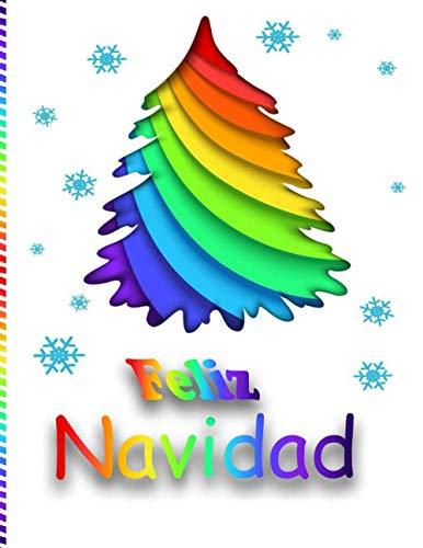 Feliz Navidad: Libro de colorear antiestrés para adultos, Regalos de Navidad, Dibujos creativos, Misterio, Zen, Mujer, ... Árboles de Navidad