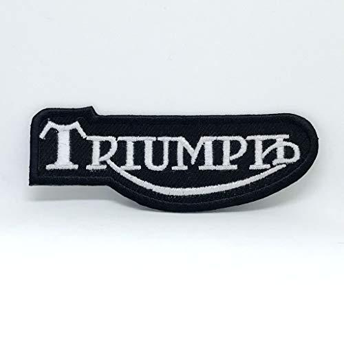 Parche bordado Triumph Motorcycle Daytona Street Triple Bonneville Heavy Metal Music Rock...