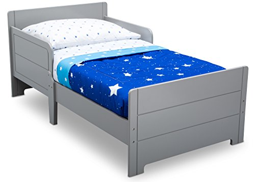 Delta Children MySize Toddler Bed, Grey