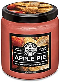 Apple Pie Uncommon Scents Candle, 7 Ounce Wax Weight, Feel The Warming Smell of Sweet Apple Pie