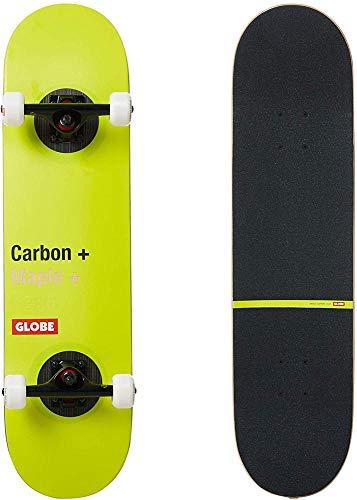 Globe G3 Bar Skateboard, Erwachsene, Unisex, Gelb (Impact/Toxic Yellow), 8,0 FU