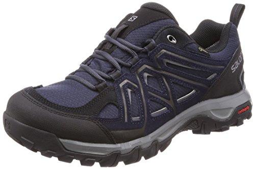 Salomon Homme EVASION 2 GTX, Chaussures de Randonnée et Multifonction, Imperméable,Gris (Graphite/Night...