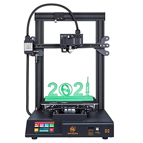 "MINGDA D2 3D Printer,FDM DIY Printer with Updated Extruder and 3.5""Colorful Touch Screen,Resume Printing,230 * 230 * 260mm Build Volume"