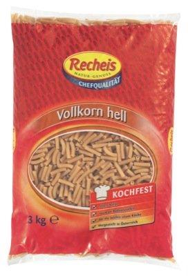 Recheis Vollkorn hell 3kg, Makkaroni