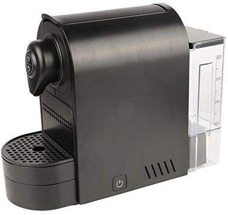 Lowest Prices! Coffee Machine, Household Coffee Maker, Portable Black Capsule Coffee Machine, Espres...