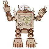 ROKR Steam Punk Music Box 3D Puzzle Wooden Puzzles Robotic Model Kits Orpheus