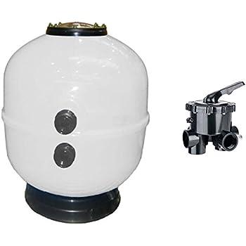 Gre FS500 - Filtro de Arena para Piscina, 550 W, 8.000 l/h: Amazon ...