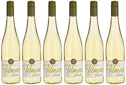 Tilman Secco weiß trocken, Deutscher Perlwein (6 x 0.75 l)