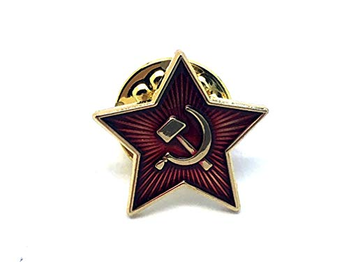 Patch Nation USSR Russischer Hammer & Sichel Brosche Metall Button Badge Pin Pins Anstecker