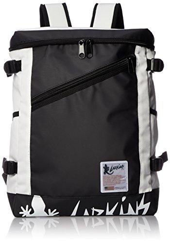 [ラーキンス] バックパック リュック LKPM-16 22L リフレクトワッペン ボックス型 大容量 ホワイト One Size