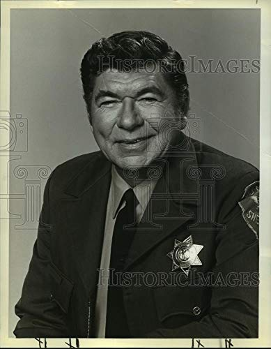 Historic Images - 1979 Vintage Press Photo Claude Akins stars in The Misadventures of Sheriff Lobo, on NBC