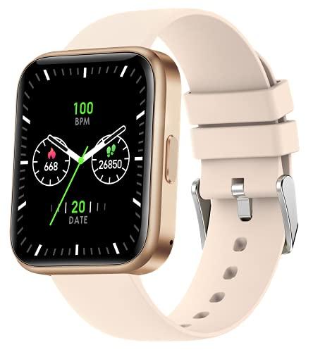 Smartwatch Telefonieren mit Lautsprecher,Kalorienzähler Armband,Fitnessuhr Damen,Blutdruck Pulsuhr Schrittzähler Sportuhr,Whatsapp Fähig,1.69 Zoll Touchscreen,Fitness Tracker Laufuhr