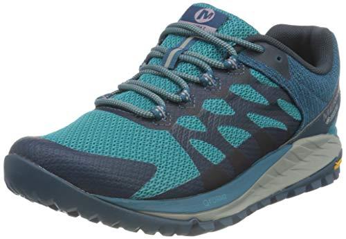 Merrell Antora 2 GTX, Zapatillas para Caminar Mujer, Azul (Capri), 36 EU