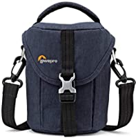 Lowepro Scout SH 100 Shoulder Bag for Mirrorless Camera with Lens and Smartphone (Slate Blue)