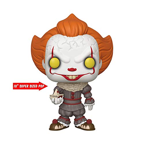 "Pop Movies: IT: Chapter 1- 10"" Pennywise w/ Boat"