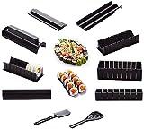 zaizai 10 Fotos/Set DIY Sushi Maker Onigiri Kits De Moldes De Arroz Cocina Bento Accesorios Herramientas, Molde De Sushi