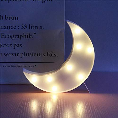 Lovely Cloud Star Moon LED 3D Night Light Juguete de Regalo Para Niños,Bebé Niños Dormitorio Tolilet Lámpara Decoración Iluminación Interior