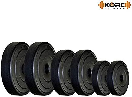 Rjkart K-PVC-RW-Home Gym Package (10 Kg - 30 Kg) Weight Plates