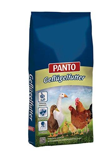 Panto Geflügelfutter, GKM Gefügelkörnermischung 25 kg, 1er Pack (1 x 25 kg)